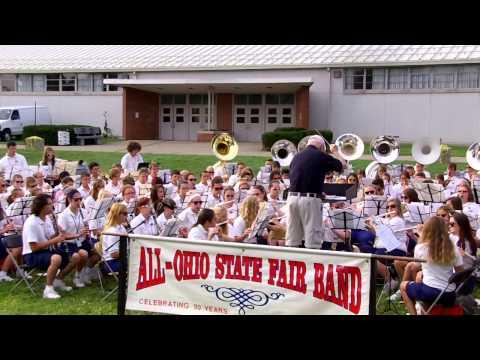 All-Ohio State Fair Band AOSFB 7.29.14