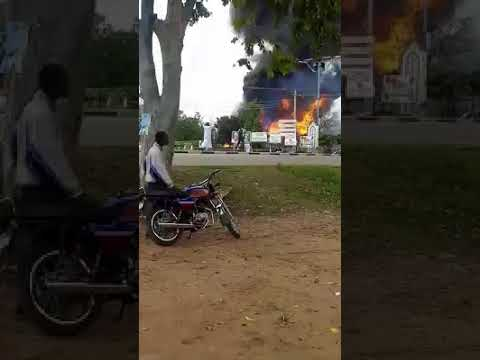 More video Of Nasarawa Gas Explosion