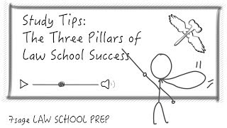 Study Tips: The Three Pillars of Law School Success - 7Sage Law School Prep(http://7sage.com/lawschool/enroll The 7Sage Law School Prep YouTube Channel offers the best FREE law school advice on the planet. Subscribe! And our site ..., 2014-04-08T18:48:07.000Z)