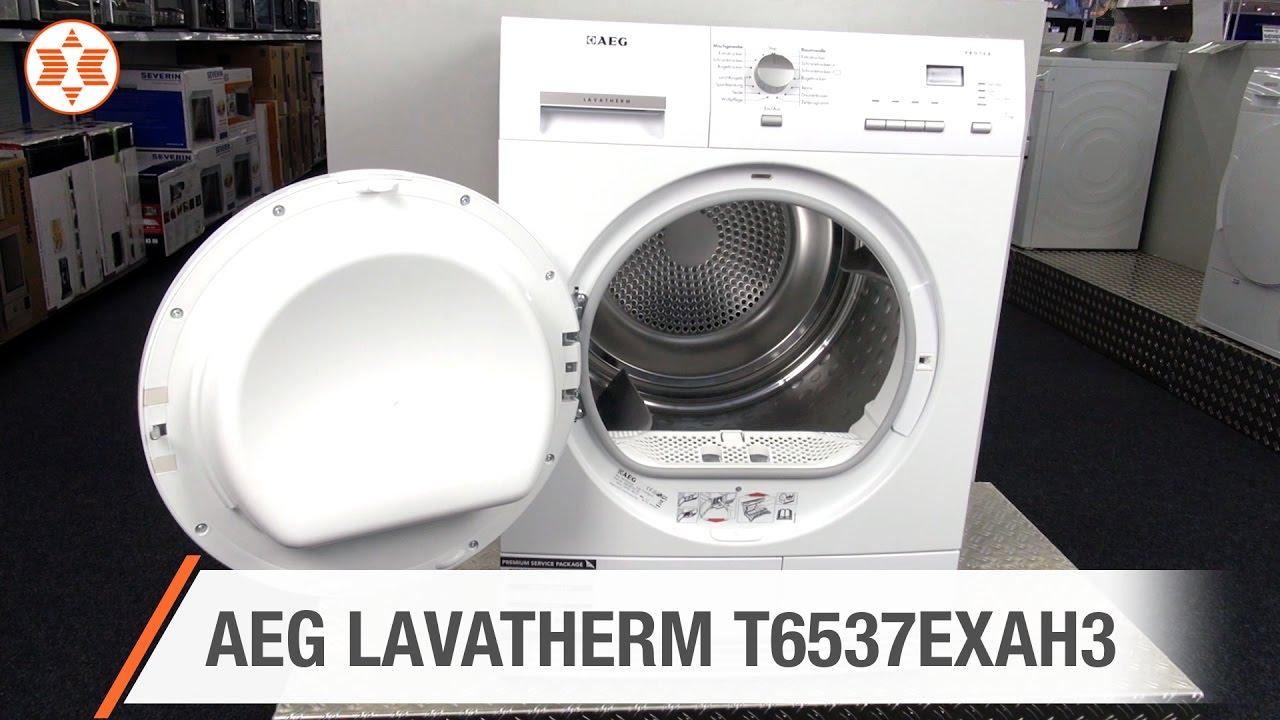 Aeg wäschetrockner lavatherm t6537exah3 experten angebot der woche