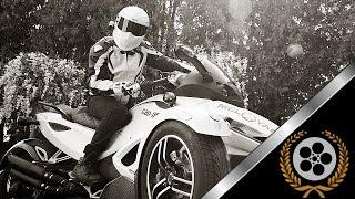 MELOYAN // Stig's Simpson Helmet // Custom BRP Spyder Can Am & Yamaha Drag Star // 2017