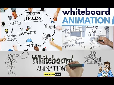Whiteboard Animation | How To Create Whiteboard Animation Video