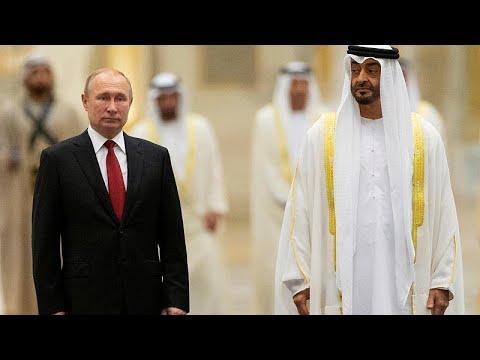بوتين في أبوظبي ومحمد بن زايد يصف الزيارة بالتاريخية  - نشر قبل 1 ساعة