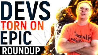 Devs SPLIT On Epic Exclusivity, BioWare FINALLY Mention Anthem, EA Join The Fray, Activision Expand