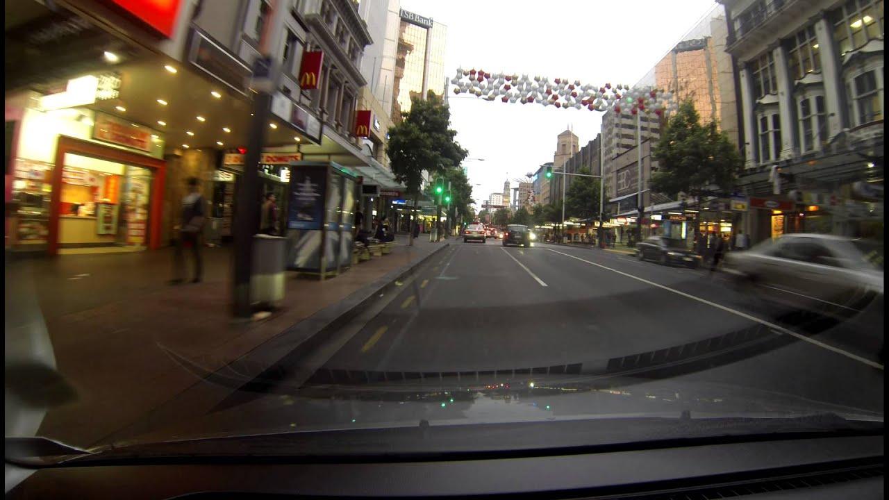 Queen Street Auckland New Zealand 2 7k Uhd Youtube