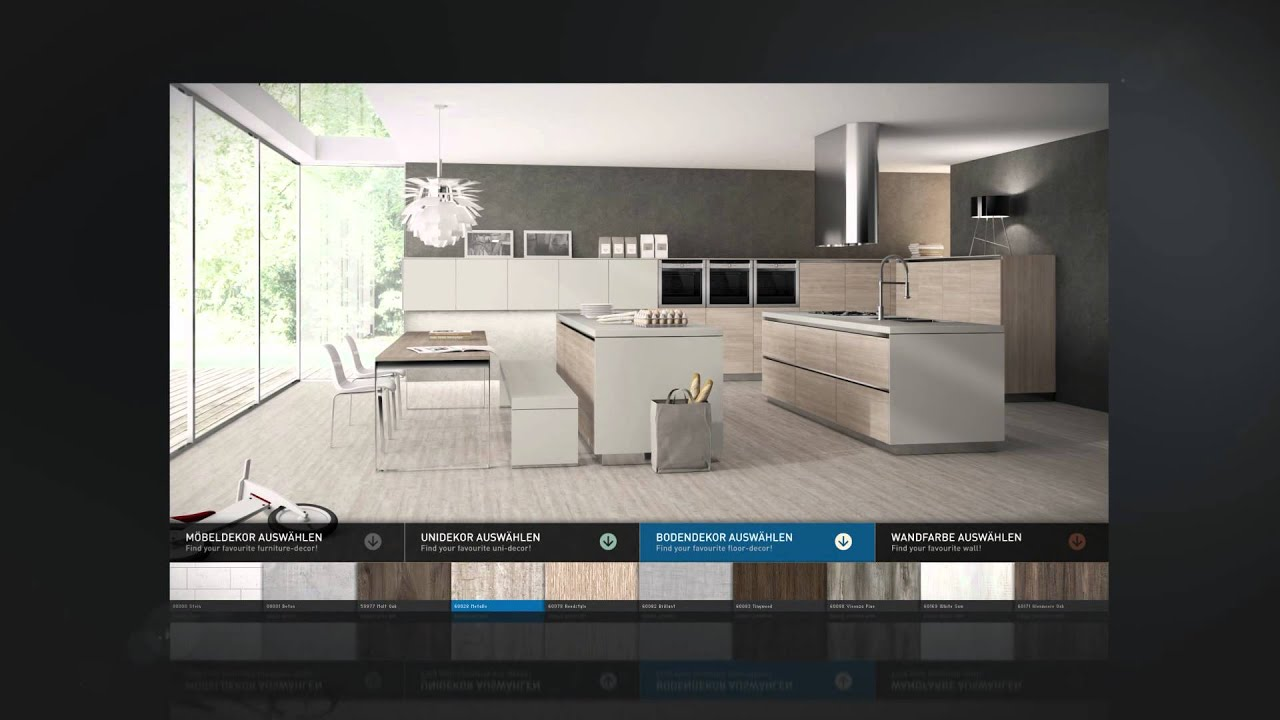 Vario fx 3d kitchen configurator youtube for Ikea configurador