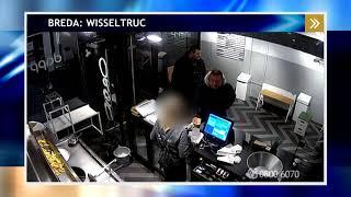 Twee mannen zetten wisseltruc in bij snackbar in Breda