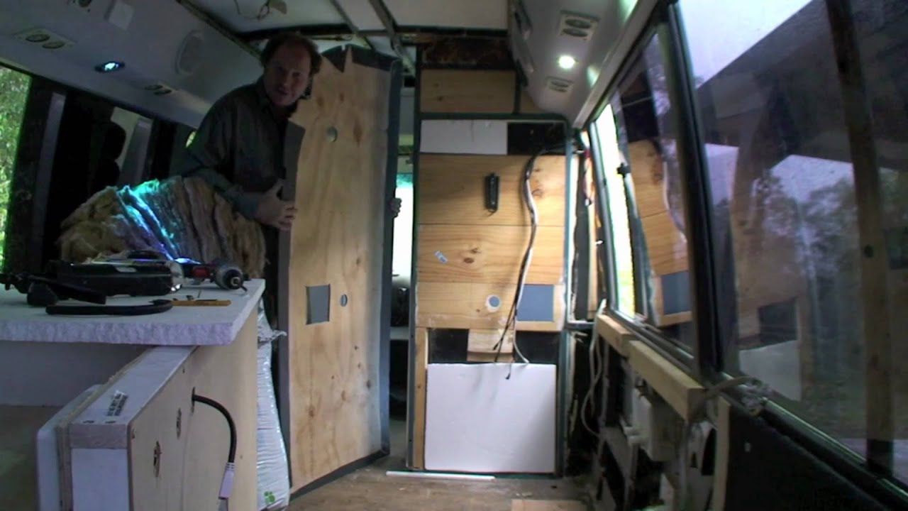 BUILDING YOUR MOTORHOME CAMPER PART 29