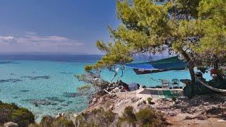 Отдых на море в Греции(Отдых на море в Греции: Видео снятое с квадрокоптера в 2015 году в Халкидиках и на острове Тасос., 2016-03-06T10:20:40.000Z)
