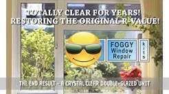 DIY Window Seal Repair Kit, Fix Broken Foggy Glass Windows in the United States and Canada