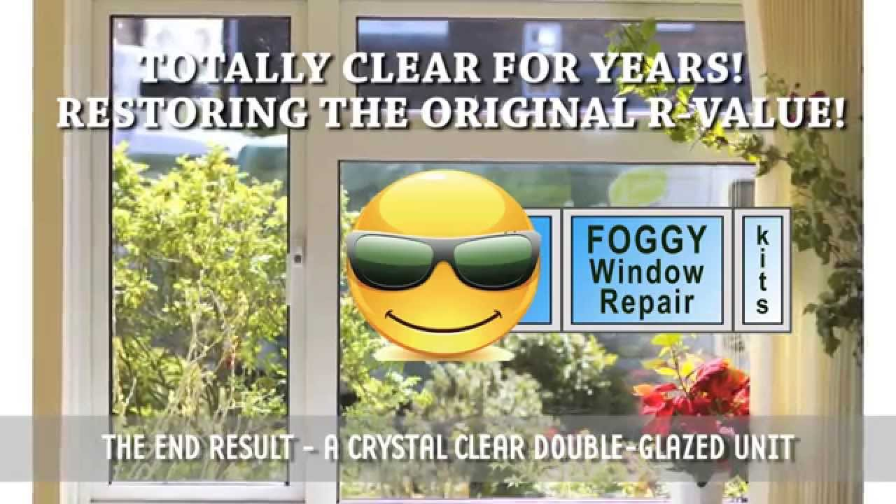 Diy window seal repair kit fix broken foggy glass windows in the diy window seal repair kit fix broken foggy glass windows in the united states and canada youtube solutioingenieria Choice Image