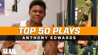 Anthony Edwards BEST PLAYS of Career! 🔥 SLAM Top 50 Friday