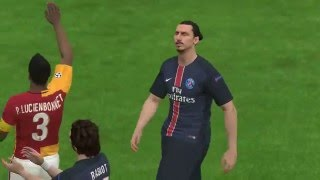 Pes 2016 Ana Lig Galatasaray Vs Paris Saint Germain Uefa Champions League Semi Final  2. Ayak