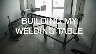 ⇒ Building A Welding Table For My New Shop
