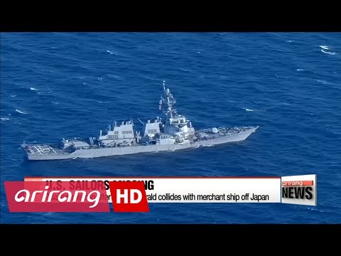 7 sailors missing after USS Fitzgerald collides with merchant ship off Japan