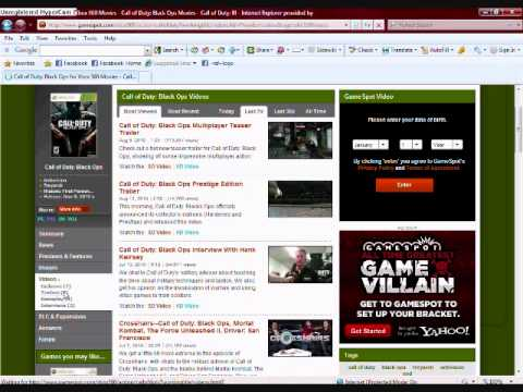 How to download Game trailers