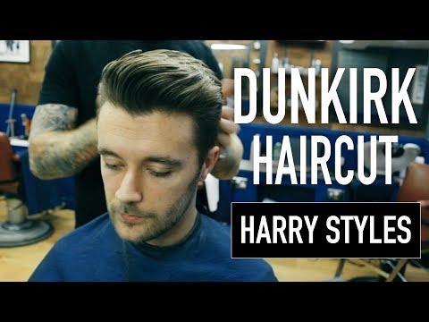 Harry Styles Dunkirk Haircut | 1930-40's Short Back & Sides Hairstyle