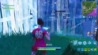 Supporting RED with the SKIN of the WORLD!!!! Fortnite Battle Royale