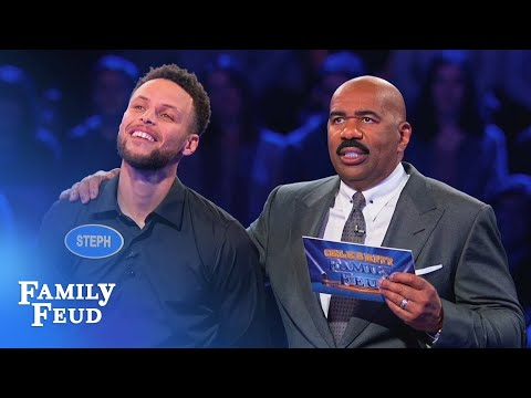 Manny On The Streets - Steph and Ayesha Curry on Family Feud *VIDEO