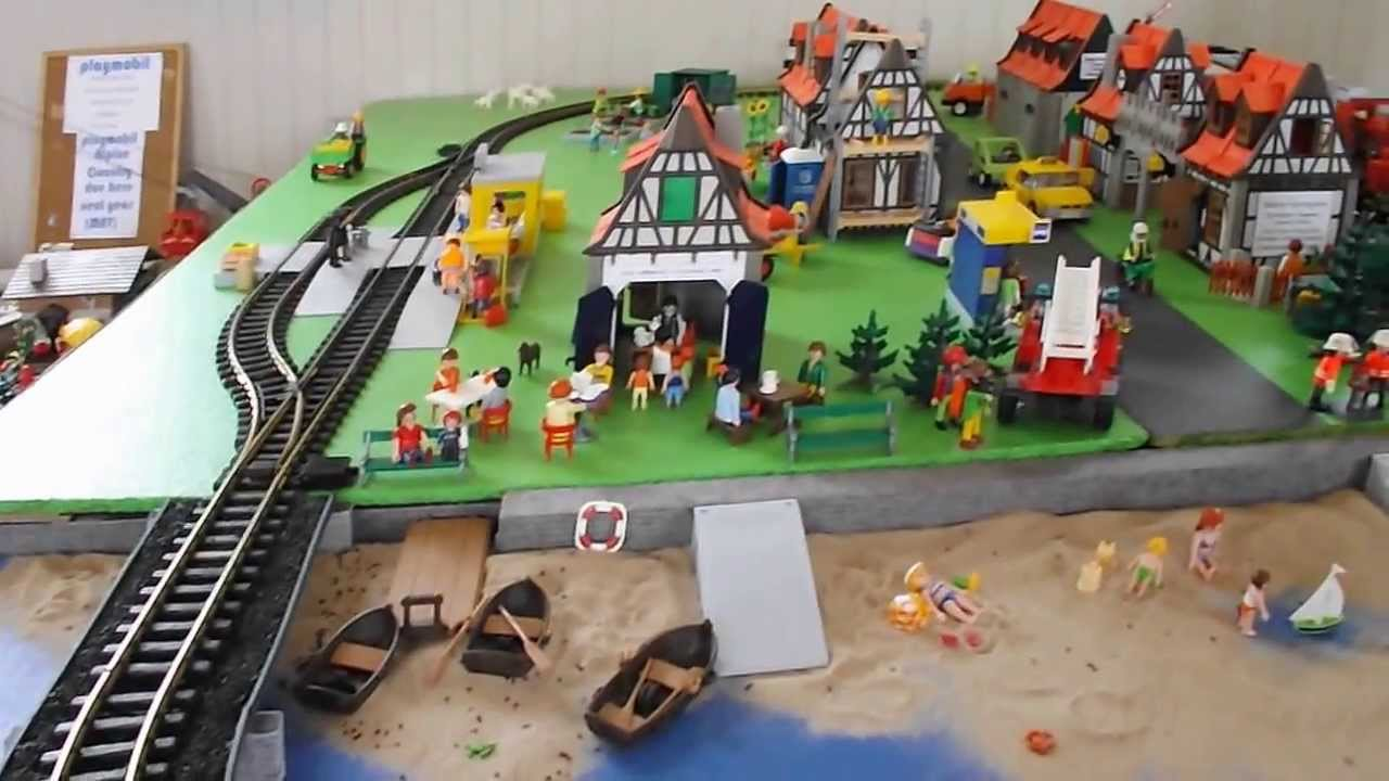 Playmobil LAYOUT .... Puyallup, WA 2010 - YouTube |Playmobil Train Layouts