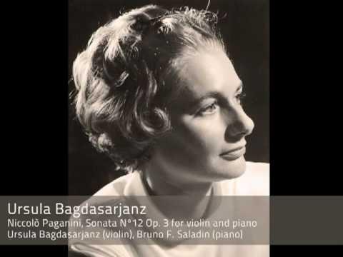 Ursula Bagdasarjanz plays Paganini