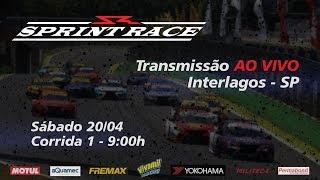 Ao Vivo - Sprint Race - Corrida 1 Etapa Interlagos (Sp) - Sábado 20/04 9:00h