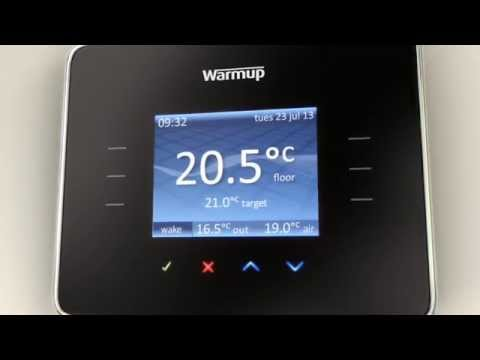 WarmUp 3ie Thermostat Guide