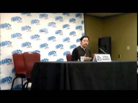 Q&A With Efren Ramirez@ Fanboy Expo Tampa 2014