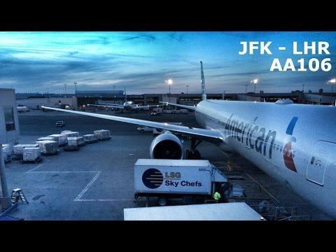 American Airlines JFK-LHR | AA106 | Boeing 777 | Flight Review