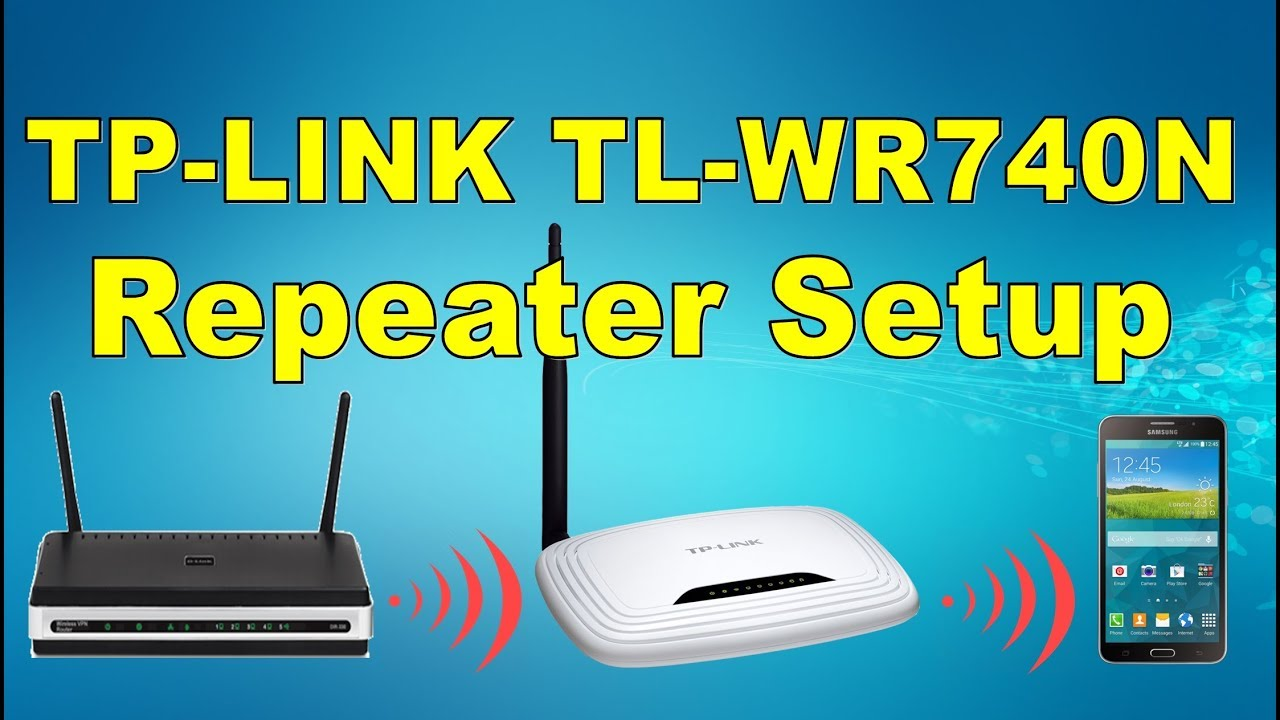 Setup Router Tp Link Tl Wr740n As Repeater كـ ربيتر Tp Link Tl Wr740n إعداد راوتر Youtube