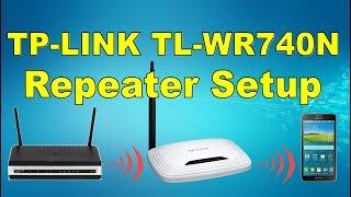 Setup Router Tp-link TL-WR740N as Repeater | كـ ربيتر Tp-link TL-WR740N إعداد راوتر