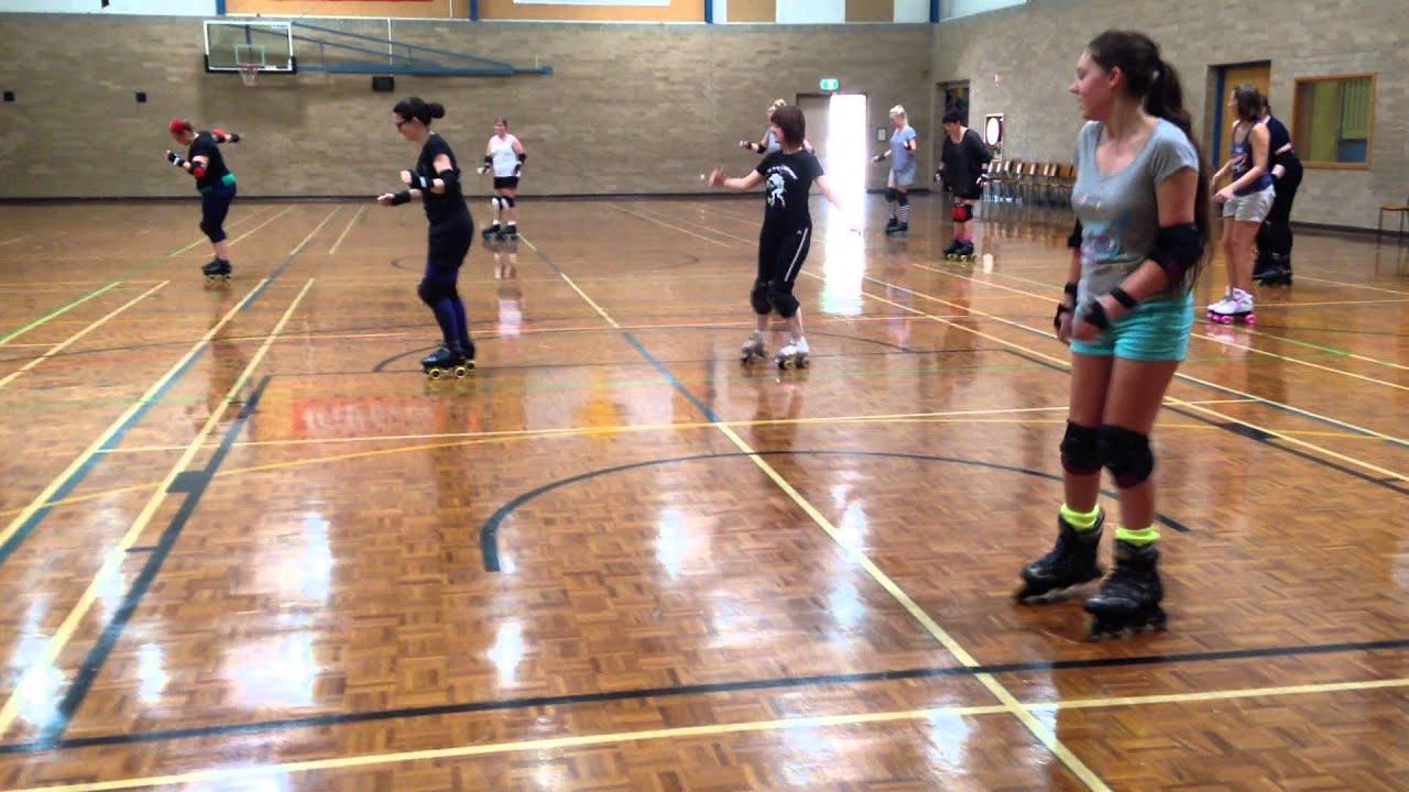 Roller skates dance - Nutbush Dance On Roller Skates