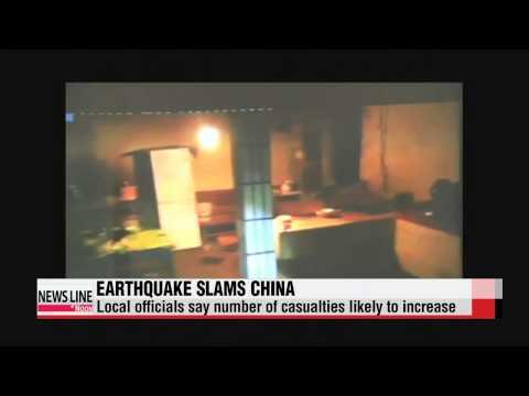 6.0-magnitude earthquake strikes China′s Yunnan Province   중국 윈난성 6.0 규모 강진