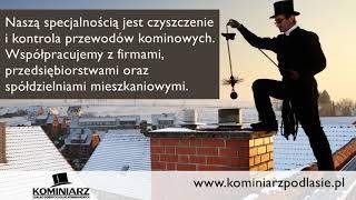 Usługi kominiarskie Białystok kominiarz Robert Dyszkiewicz