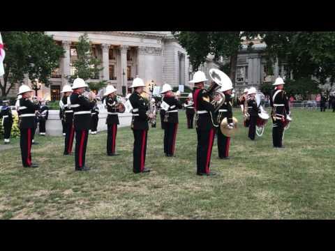 Royal Marin band's evening