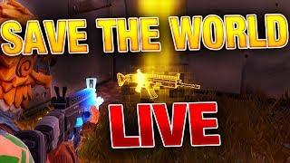 Fortnite Save the World LIVE! 250K STREAM! (Gameplay)