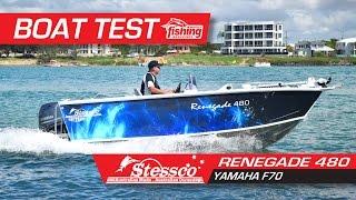 Tested: Stessco Renegade 480 with Yamaha F70 YouTube