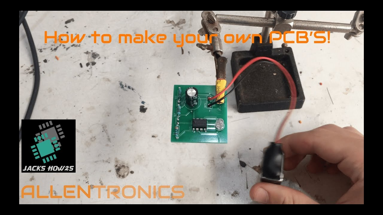 How to Make Custom Circuit Boards (PCB's) FOR JUST $2!