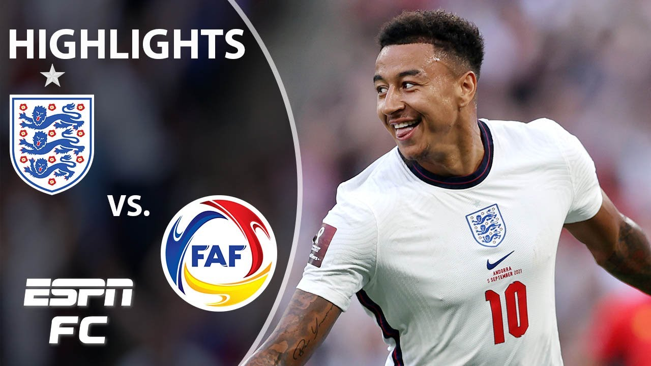 Download England thrashes Andorra as Jesse Lingard scores twice   World Cup Qualifying Highlights   ESPN FC