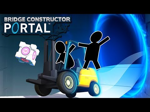 1000 IQ Architect! - Bridge Constructor Portal!