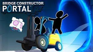 1000 IQ Architect! - Bridge Constructor Portal!