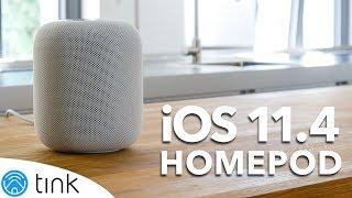 Apple HomePod einrichten und Ersteindruck - Apple HomePod Stereo und iOS 11.4