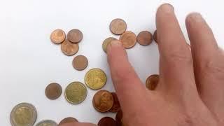 Монеты евро и евро центы