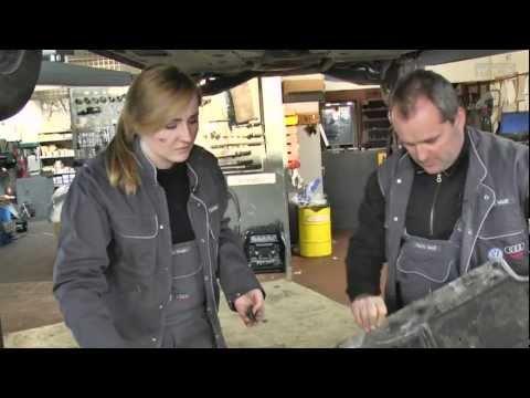 Aileen@work - KFZ Mechatronikerin - Sendung vom 16.02.2012 by schuhplus.com Schuhe Übergrößen