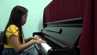 Piano cover_Sealed with a kiss_with Judy