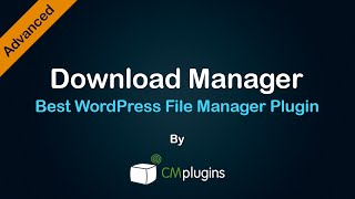 [7.25 MB] Tutorial showing how to manage, track, organize download files using a WordPress Plugin