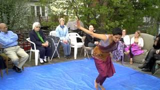 Somerville Open Studios 2011 ~ Pampi improv dances to Deepak Ram