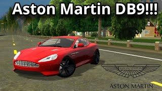 Aston Martin DB9 in Car Parking Multiplayer!!