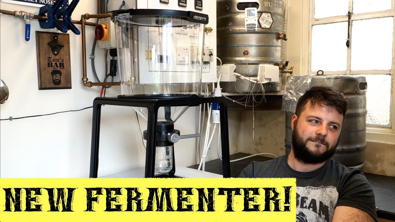 5k unboxing the new catalyst fermenter from craft a for Craft a brew catalyst