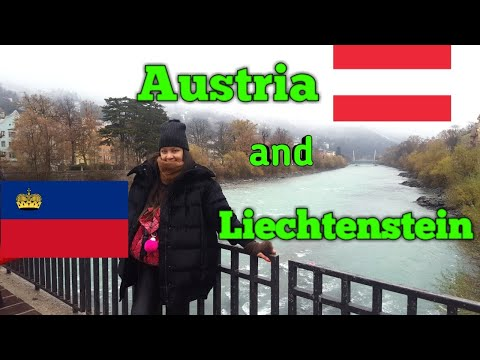 TRAVEL VLOG: Innsbruck, Austria and Liechtenstein | Swarovski shop | EUROPE TOUR